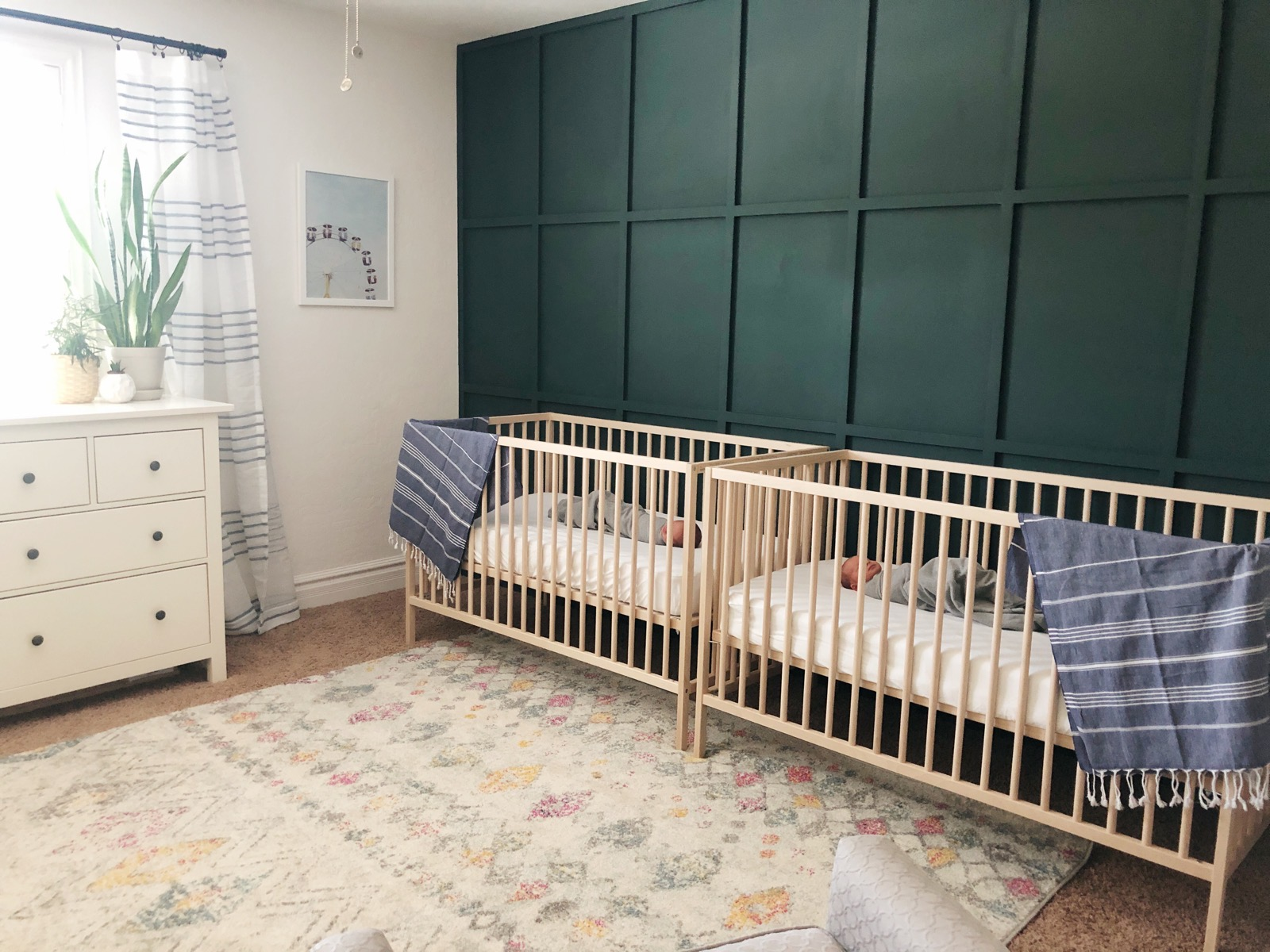 Twin Nursery Reveal