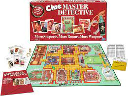 Amazon.com: Winning Moves Games Clue Master Detective - Board Game,  Multi-Colored: Toys & Games